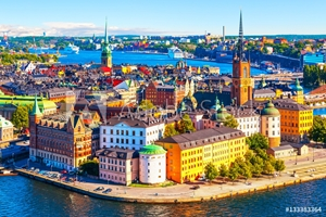 Picture of Aerial panorama of Stockholm, Sweden